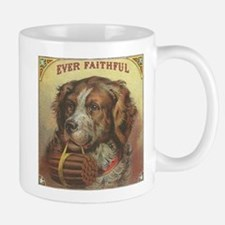 Faithful Dog with Cigars Mug