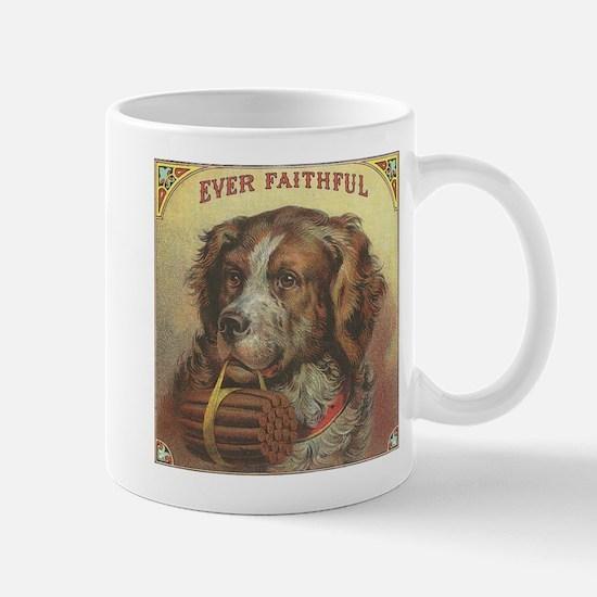 Faithful Dog with Cigars Mug