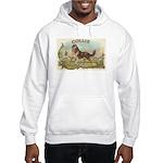 Collie antique label Hooded Sweatshirt
