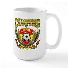 Spain 2010 World Soccer Champions Mug