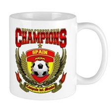 Spain 2010 World Soccer Champions Mug