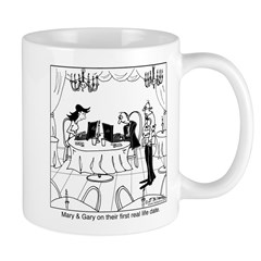 Mary & Gary on their first real life date Mug