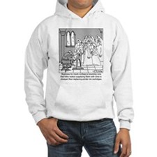 Monk Scribes Cheaper then Ink Cartridges Hoodie