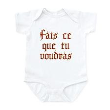 fais ce que tu voudras Infant Bodysuit
