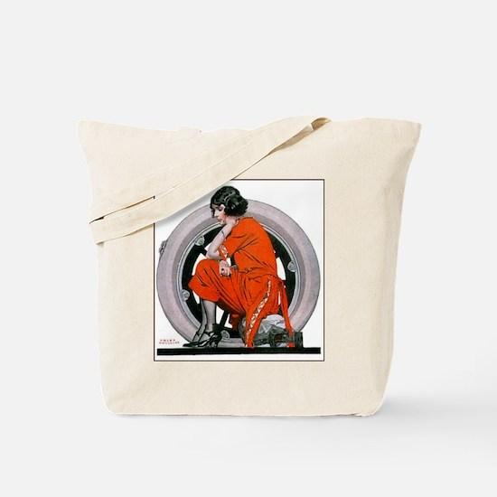Cute 1920s Tote Bag