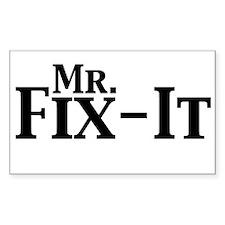 Mr. Fix-It Decal