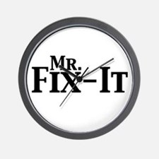 Mr. Fix-It Wall Clock
