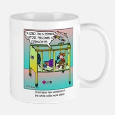 Technical Support & Child Labor Laws Mug