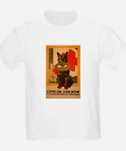 Red Cross Dog Poster T-Shirt