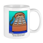 Phones at Technical Support Mug