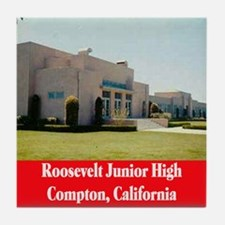 Roosevelt Junior High Tile Coaster