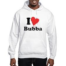 I heart bubba Jumper Hoody