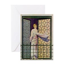 Coles phillips Greeting Card
