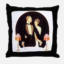 Cool 1920s Throw Pillow