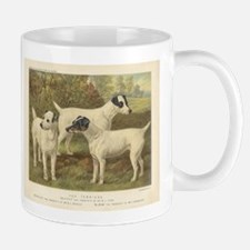 Fox Terriers antique print Mug