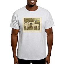 Fox Terriers antique print T-Shirt
