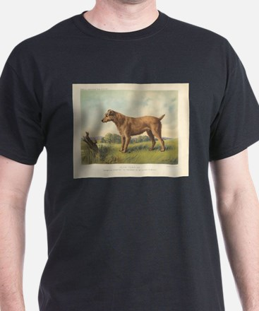 Cute Irish Terrier print T-Shirt