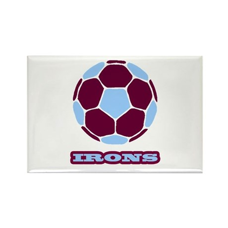 Irons Rectangle Magnet