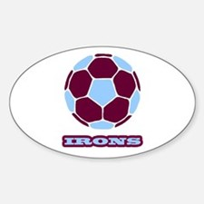 Irons Sticker (Oval)