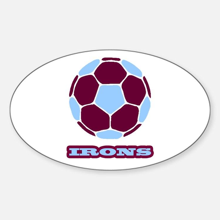 Irons Sticker (Oval)