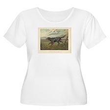 Hunting Dog antique print T-Shirt