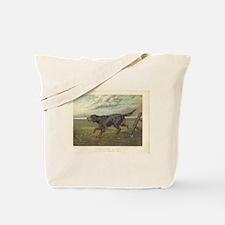 Hunting Dog antique print Tote Bag