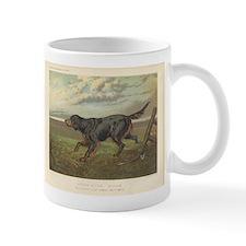 Hunting Dog antique print Mug