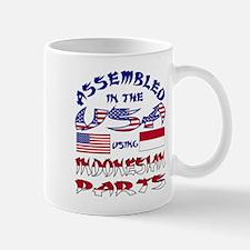 USA / Indonesian Parts Mug