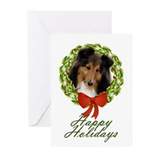 Sheltie #1 Xmas Cards (Pk of 10)