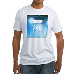 Logo with URL and tagline 4 Shirt