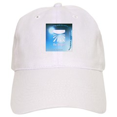 Logo with URL and tagline 4 Baseball Cap