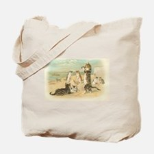 Kitties on the Beach Tote Bag