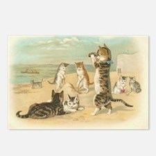 Kitties on the Beach Postcards (Package of 8)