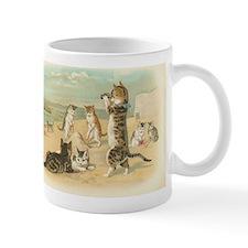 Kitties on the Beach Small Mug