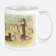 Kitties on the Beach Small Small Mug