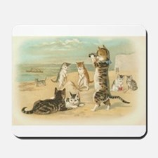 Kitties on the Beach Mousepad