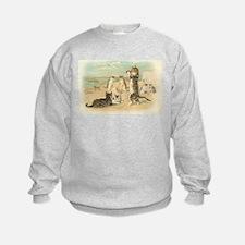 Kitties on the Beach Sweatshirt