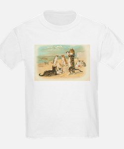Kitties on the Beach T-Shirt