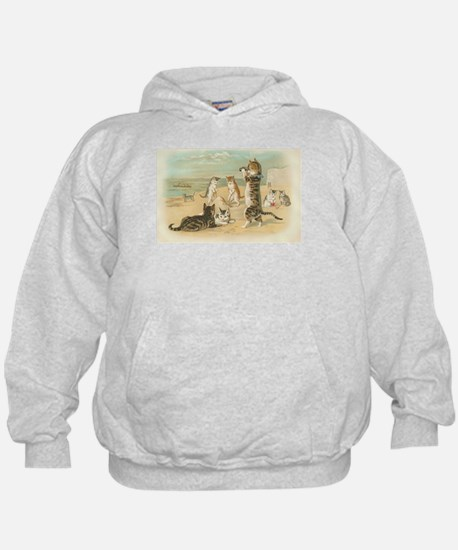 Kitties on the Beach Hoody