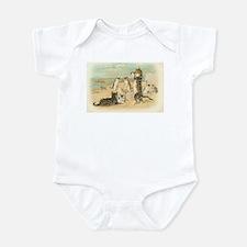 Kitties on the Beach Infant Bodysuit