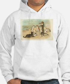 Kitties on the Beach Hoodie Sweatshirt