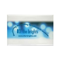 Logo with URL and tagline 2 Rectangle Magnet