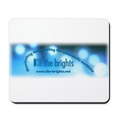 Logo with URL and tagline 2 Mousepad