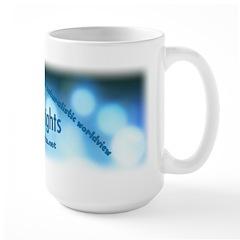 Logo with URL and tagline 2 Mug