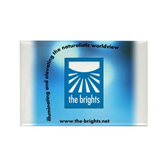 Logo with URL and tagline 3 Rectangle Magnet (10 p