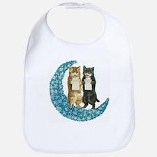 Blue Moon Singing Cats Bib