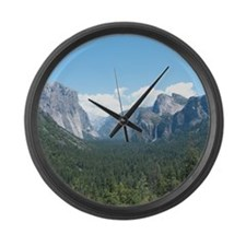 Unique View Large Wall Clock