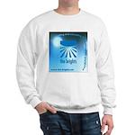Logo with URL and tagline Sweatshirt