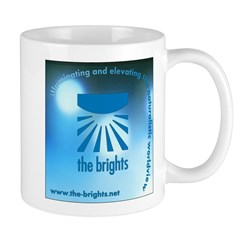 Logo with URL and tagline Mug
