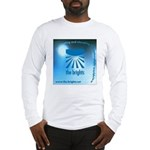Logo with URL and tagline Long Sleeve T-Shirt